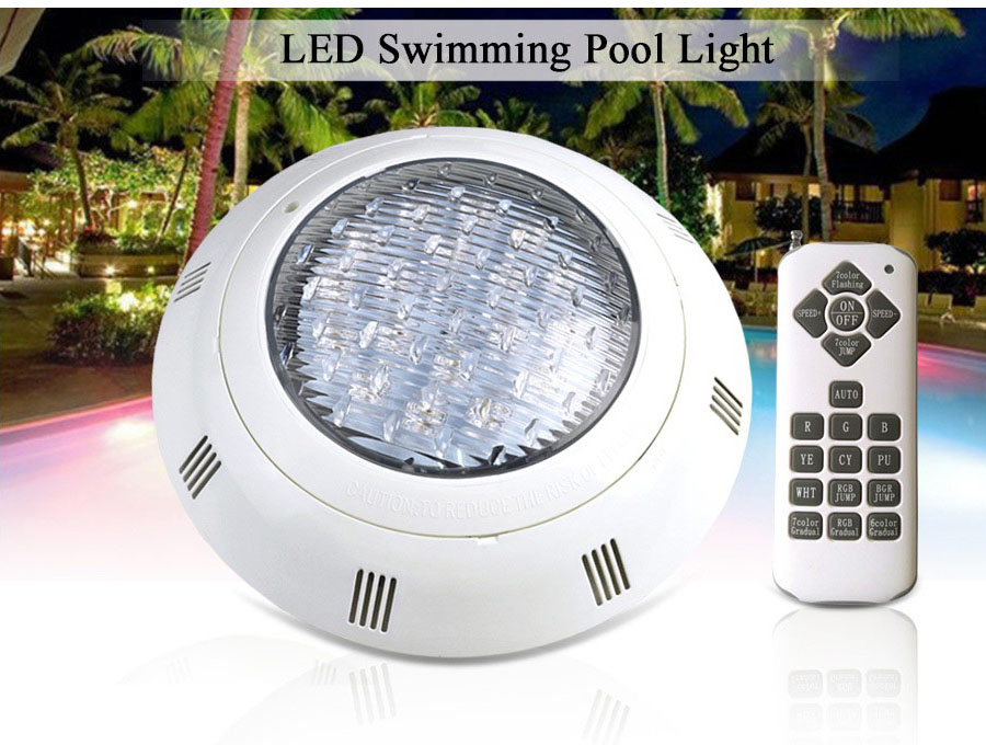 SURFACE MOUNTED LED POOL LIGHT RGB