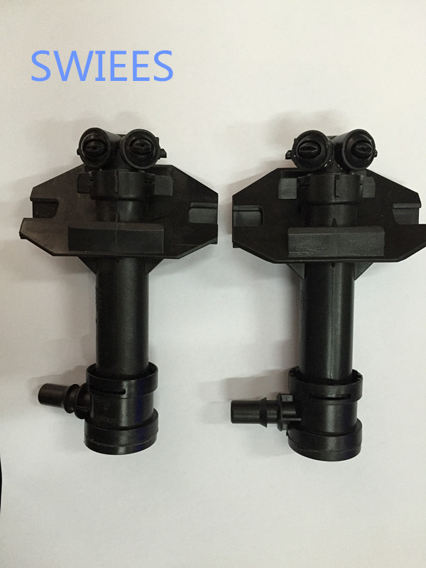 SWIEES For 2PC Left Right Headlight Washer Sprayer Nozzle Set For AD Q3 2011 2014 8U0