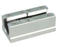 Free Shipping For 4pcs SBR20LUU CNC Linear Ball Bearing Support Unit Pillow Blocks