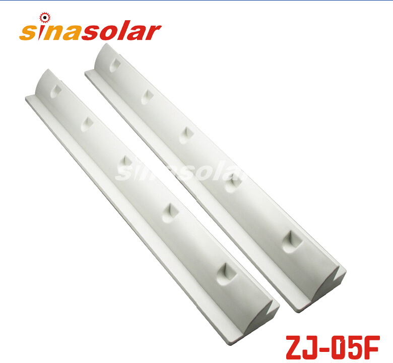 White ABS 680mm Side Solar Panel Mounting Bracket Spolier For Caravan Motorhome RV 100w folding solar panel solar battery charger for car boat caravan golf cart