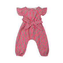 Pudcoco летняя одежда для младенцев маленьких девочек детский