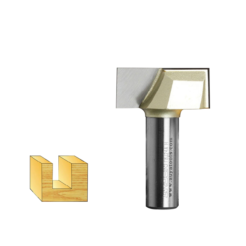 Metric Cleaning Bottom Arden Router Bit - 1/4*12mm*15mm - 1/4'' Shank - Arden A0117044