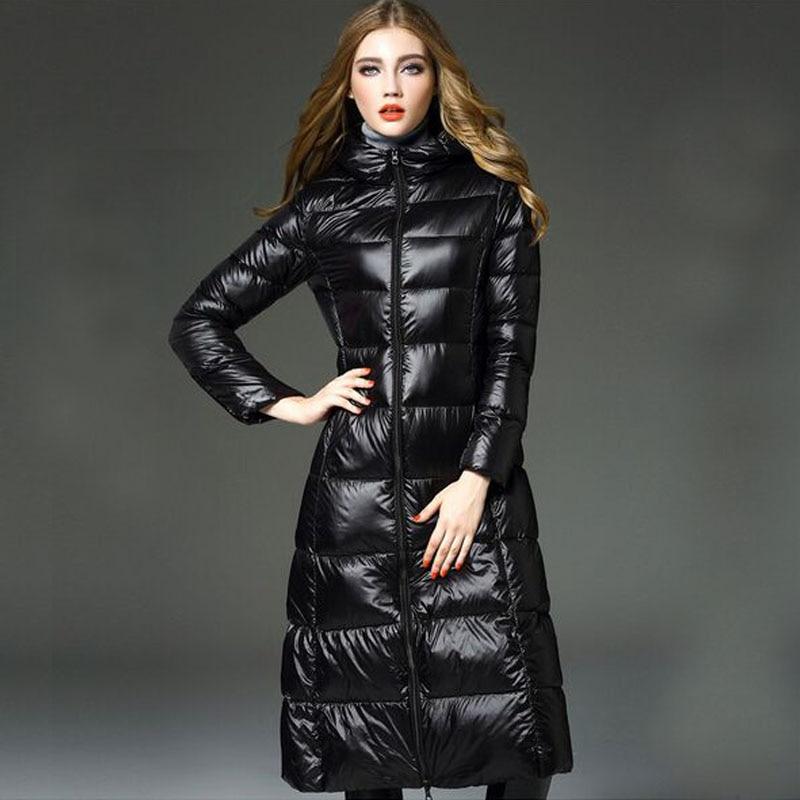 High Quality Winter Jacket Women 2019 New Fashion 90% White Duck Down Jacket Women's Ultra Light Brand Down Parka Plus Size Coat