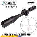 MARCOOL Stalker Caça Optics FFP 5-30X56 HD Objetivo Colimador Mira Óptica Rifle de Ar Pneumática Arma Rifle Scope Para A Caça
