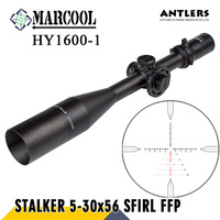 MARCOOL Stalker Hunting Optics 5 30X56 FFP HD Air Rifle Sight Optical Aim Collimator Pneumatics Weapon Rifle Scope For Hunting