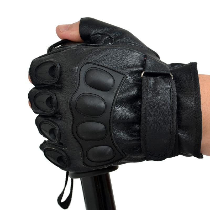 Morewin 2018 Lovely Party Voksen Tactical Handskar Half Finger PU - Kläder tillbehör - Foto 4
