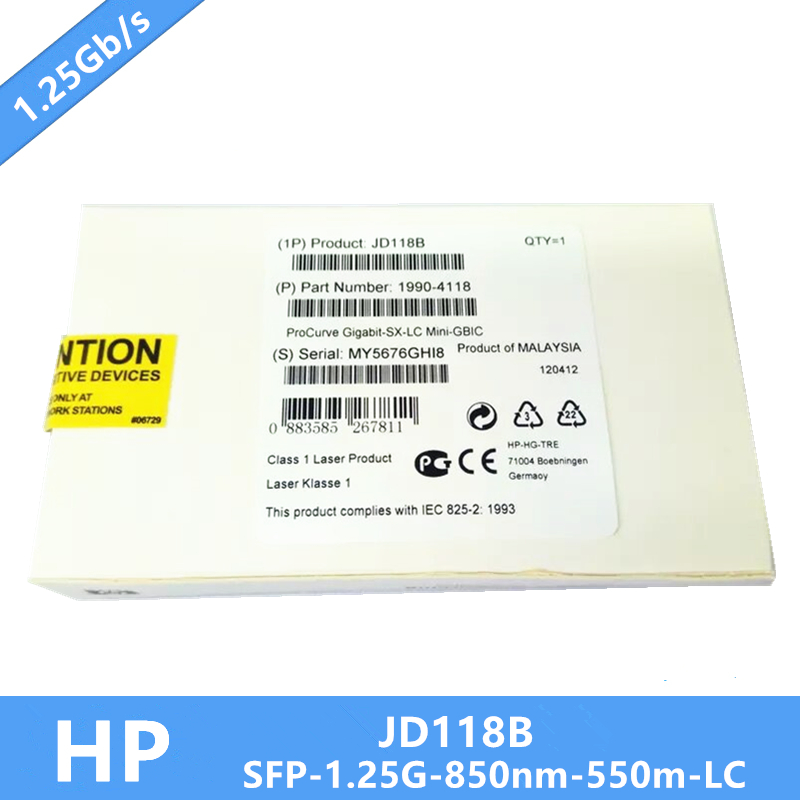 Image 3 - New JD118B Gigabit SX LC Mini GBIC HP SFP Module DDM MMF 850nm 550m LC Need more pictures, please contact me-in Fiber Optic Equipments from Cellphones & Telecommunications