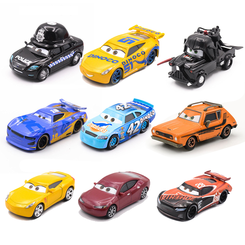 30 Styles Disney Pixar Cars 3 Lightning McQueen Jackson Storm Ramirez Diecast Metal Alloy Model Educational Toy Car Gift For Kid