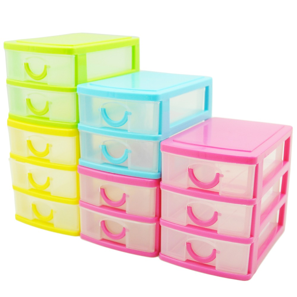 Desk Top Drawers Us 5 25 Mini 2 Or 3 Layers Home Office Desktop Drawer Organizer Jewelry Box Small Objects Cosmetics Box Wholesale Desktop Organizer In Home Office