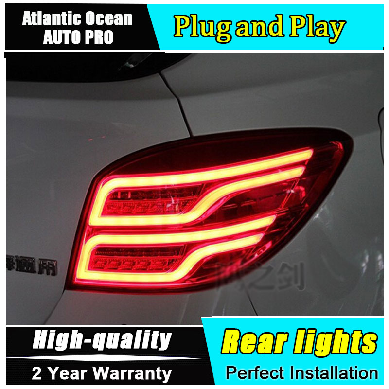 JGRT 2009-2014 for chevrolet cruze led taillights for chevrolet CRUZE Hatch Back rear lights car styling trunk lamp parking novline autofamily chevrolet cruze 2009 цвет черный