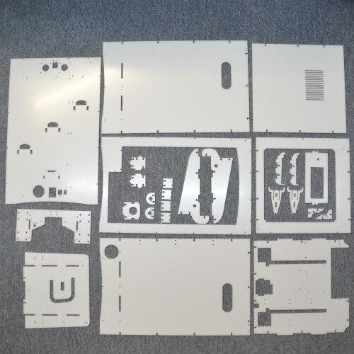 Reprap laser cut 3 DATOR ACRYLGLAS TEILE 3dator-master imprimante 3D plaque acrylique cadre kit 5mm thikness