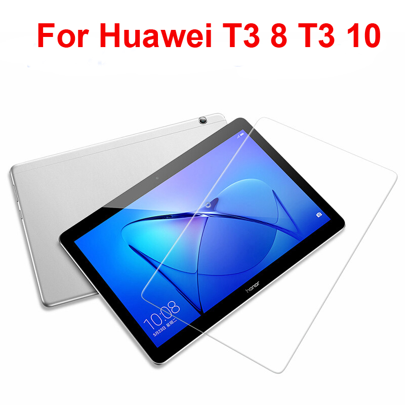 Protective Glass For Huawei Mediapad T3 9.6 T3 8 Tablet Screen Protector Film For Huawei T3 10 7.0 4G Wifi Tablet Tempered Glass