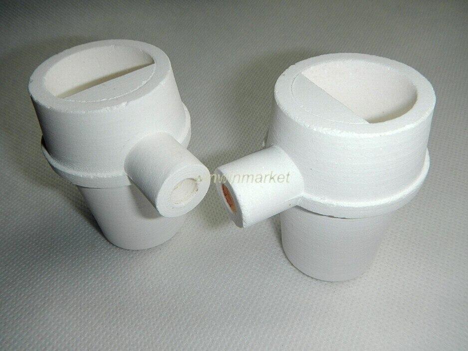 4 pçs laboratório dental fundição de quartzo