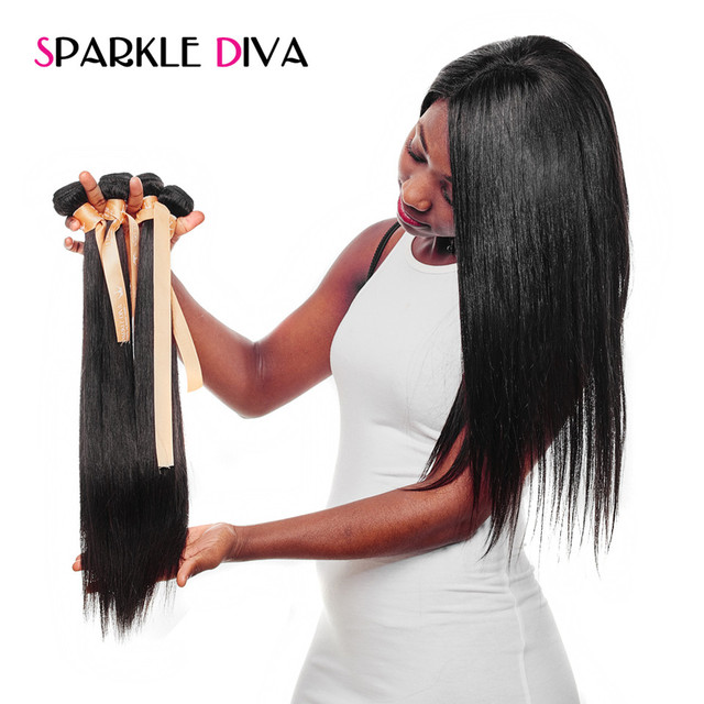 Sparkle diva hair malaysian straight hair weave 10 28inch natural sparkle diva hair malaysian straight hair weave 10 28inch natural color 100 human hair pmusecretfo Images