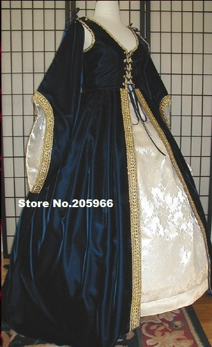 18th Century The Celtic Court Dress Style Nobility Collection Tudor
