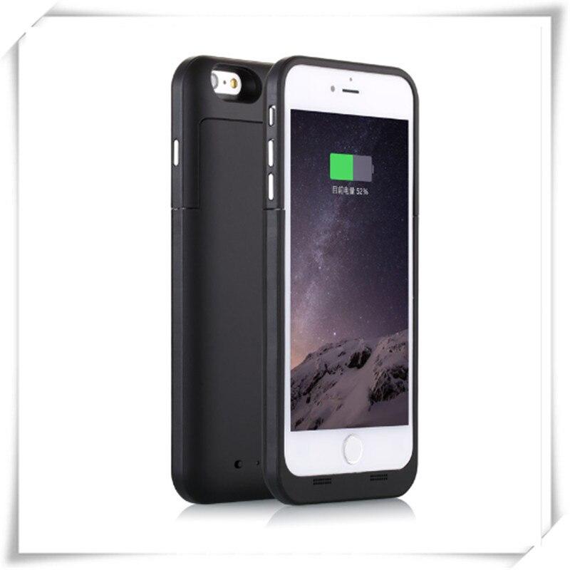 imágenes para Nueva caja del teléfono portátil 3800 mah banco de la energía paquete externo de la batería cargador para iphone 6 6s 4.7''