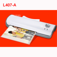 Laminating-Machine Pet-Film Roll-Laminator Cold Office Hot A4 for Document-Photo L407-A