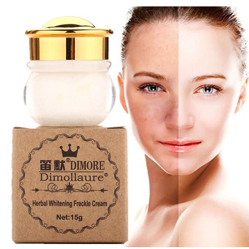 Buy 3 Get 1 Gift Dimollaure whitening face cream Removal Freckle speckle melasma sunburn Spots pigment Melanin Acne scars Dimore