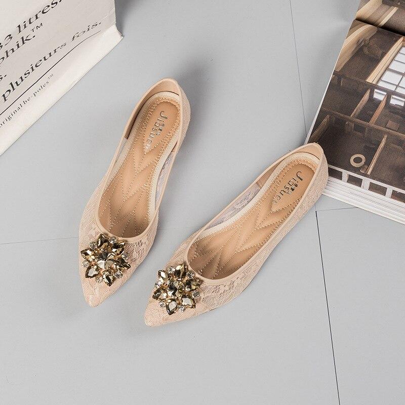 Pointu gris Chaussures Femmes Gelée Harajuku Sur Bout Tenis Appartements Designers Femme Feminino Mocassins Bateau Plat De Slip Luxe Apricot noir qAnA7Ww1Ht
