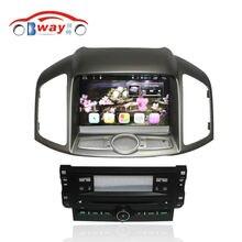 Bway Android 6.0 Radio samochodowe do CHEVROLET CAPTIVA 2012 samochodów odtwarzacz dvd 1024*600 2 din w dash car audio Zewnętrznego MIC