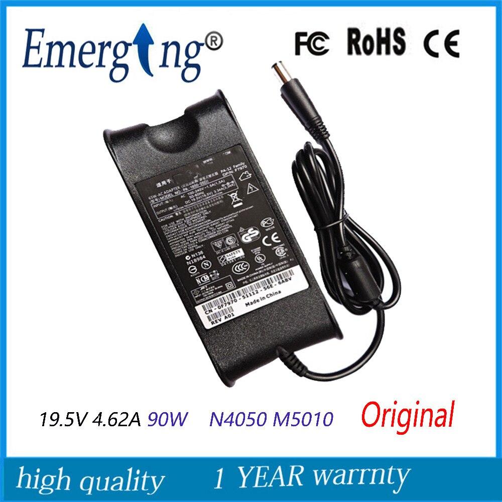 19.5 V 4.62a 90 W 7.4x5.0mm Originele Ac Adapter Voor Dell Ad-90195d Pa-1900-01d3 Df266 M20 M60 M65 M70 1410 1420
