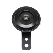 12V Loud 105DB replacement Horn With Bracket 12 Volt For Motorcycle Bike Black