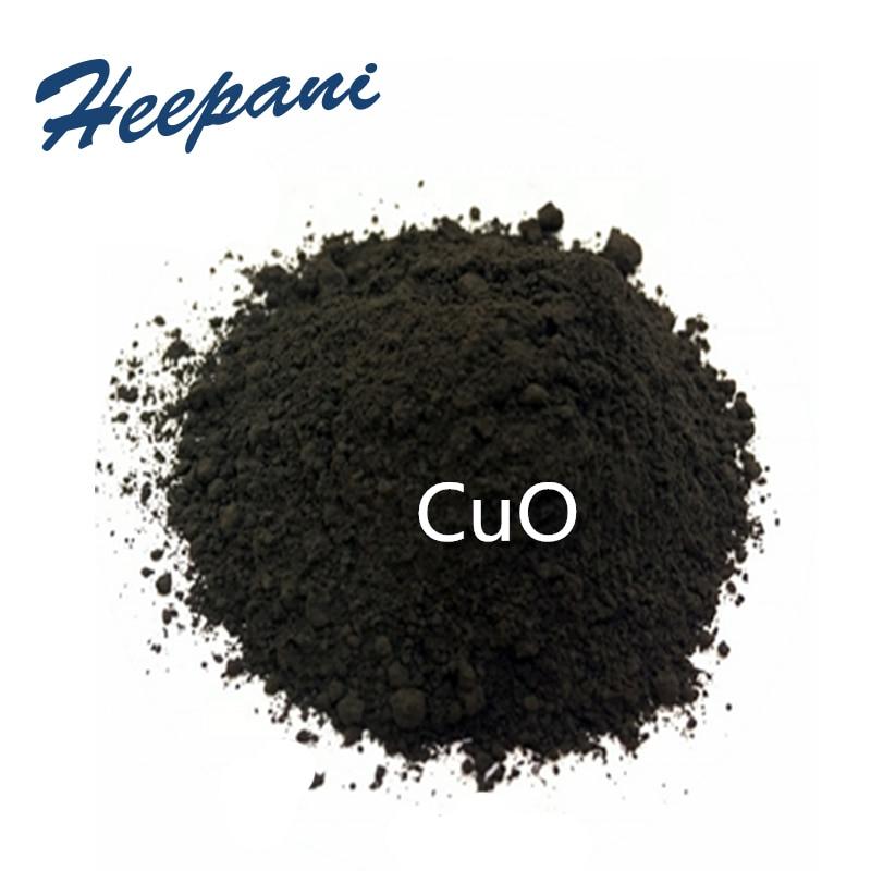 Free Shipping Pure 99.99% Copper Oxide Black Powder Nano CuO Superconductivity, Ceramics Material Powder