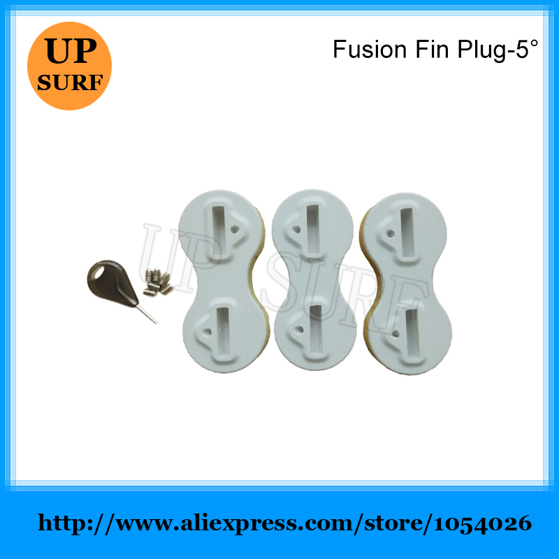 Plug Fins White 5 Degree Fusion Fins Plug Plastic Surfboard Plugs FCS Fin in Surfing from Sports Entertainment