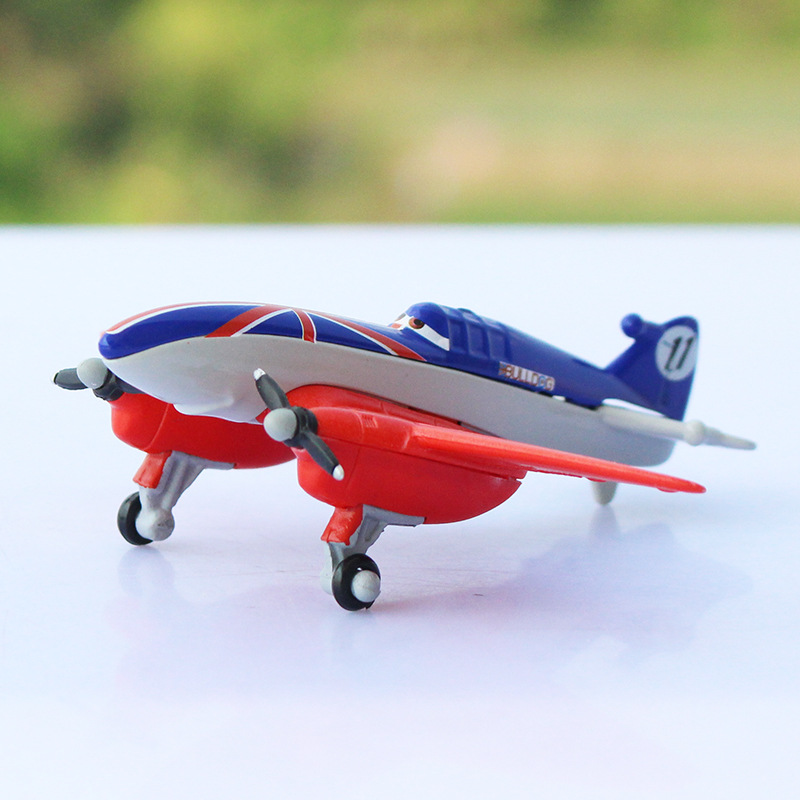 Disney Pixar cars 2 Planes No.11 Bulldog Metal Diecast alloy Toy Plane model for children gift 1:55 brand toys New In Stock image
