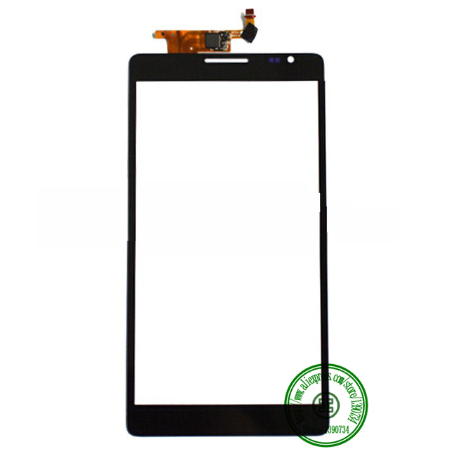 ВЫСОКОЕ Качество Черный Новый 6.1 Дюймов Передняя Стеклянная Панель С Сенсорным Экраном Дигитайзер Для Huawei Mate MT1-U06 MT1 U06 Телефон Замена