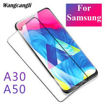 3D fully glued surface image processor A50 glass for Samsung Galaxy A30  protective on Galax Anti-fingerprint safety