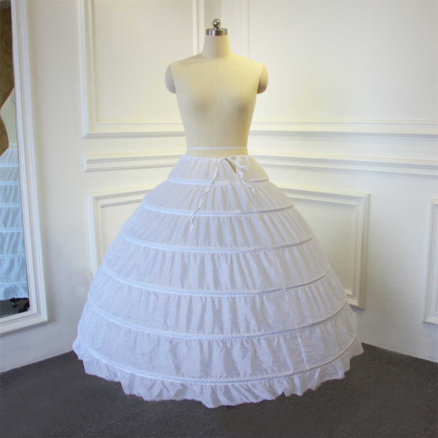High Quality Petticoat 6 Rings Without Tulle For Ball Gown Wedding