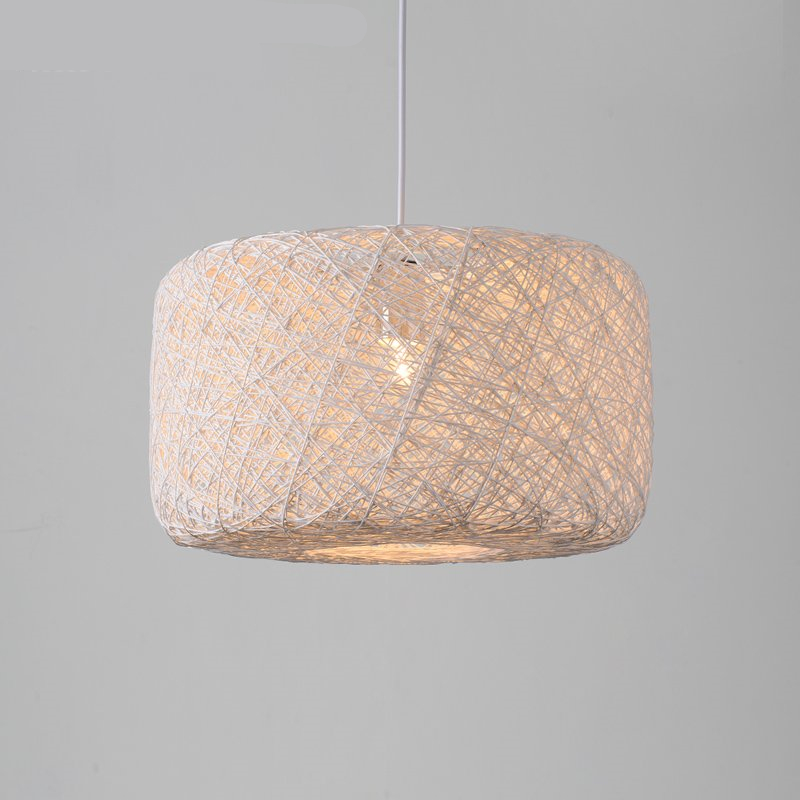 Rattan Wicker Pendant Lights Kitchen Restaurant Vintage Bird Cage Lampshade Classical Chinese Light Modern Design Decoration rattan wicker pendant lights kitchen restaurant vintage bird cage lampshade classical chinese light modern design decoration