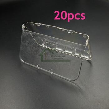 20 piezas e-house New para Nintendo 3DS XL consola de juegos Carcasa protectora transparente para nueva funda 3DS LL