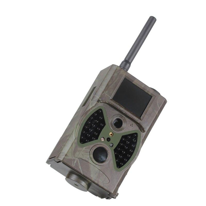 Promotion 940NM scouting gsm hunting camera HC300M HC-300M HD GPRS MMS Digital Infrared Trail Camera GSM hc300m scouting hunting camera gprs mms digital 940nm black infrared trail camera solar panel battery