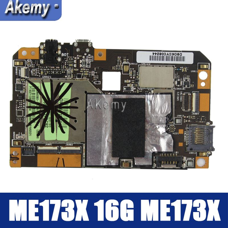 Amazoon  ME173X Tablet PC Motherboard For ASUS ME173X  ME173 ME17 Test Original Mainboard 16G