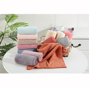 Image 5 - Coral Velvet Absorbent Bath Towels for Adults Face Towel Bath Towel Set Soft Comfortable Bathroom Towel Set 70*140 11 Colors