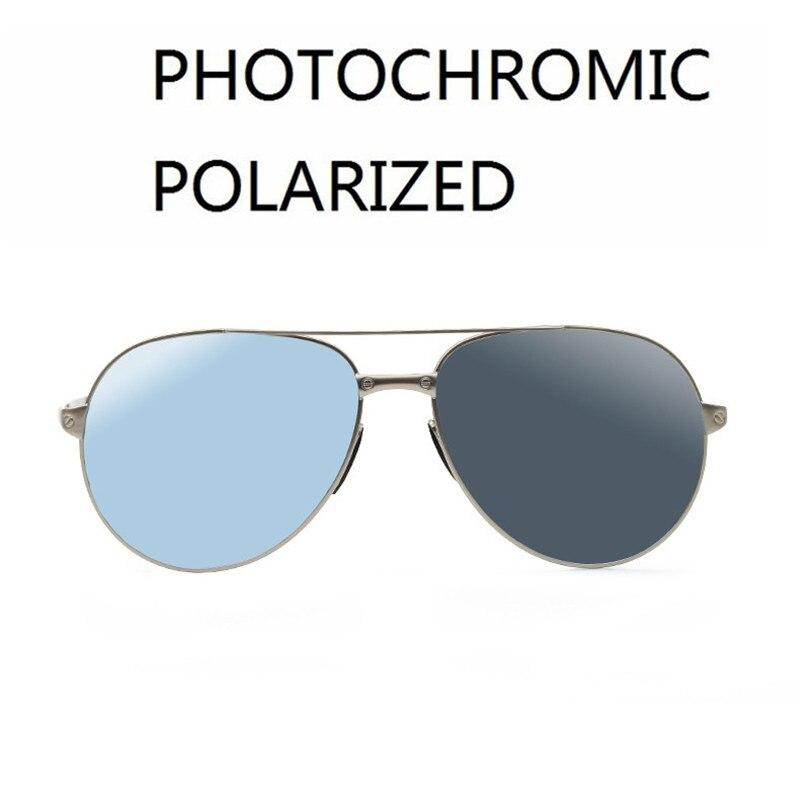 Vazrobe lunettes de soleil polarisées photochromiques hommes femmes conduite lunettes de soleil pour homme Transition caméléon mode mâle nuances UV400