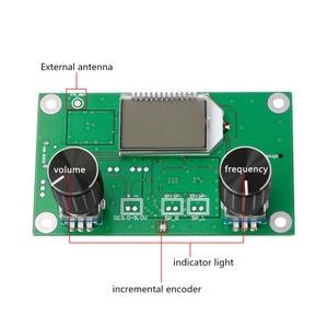 Image 3 - 1 шт. 87 108 МГц DSP и PLL LCD стерео цифровой fm радиоприемник модуль + последовательное управление
