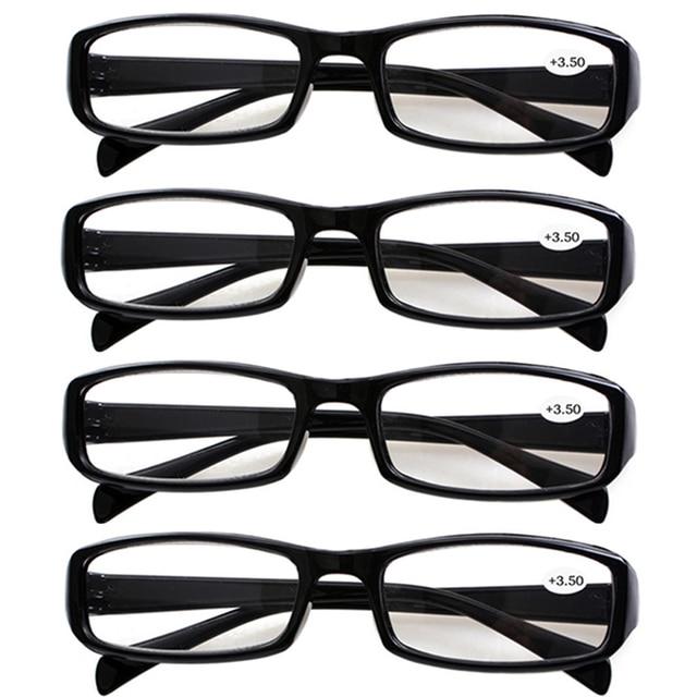 e28f4b2fee0b 4x Reading Glasses Stylish Fashion Everyday Use Readers Eyeglasses Brand  Eyewear Specs Mens Womens +1.0 to +4.0 Lens Spectacles