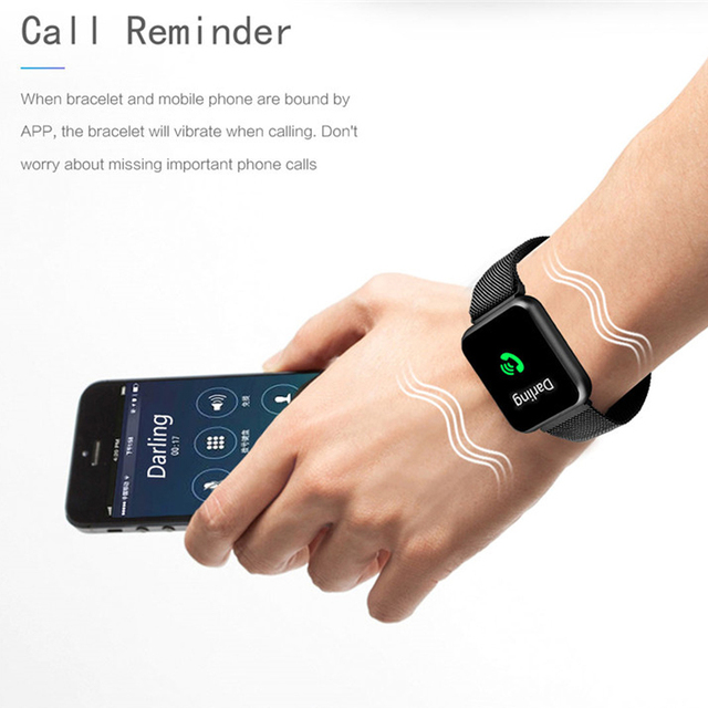P68 Smart Watch Men Women 2019 Blood Pressure Blood Oxygen Heart Rate Monitor Sports Tracker Smartwatch IP68 Connect IOS Android 2