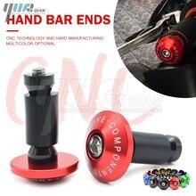 Handlebar Gear Balanced Plug Slider Handle Bar End Grips Caps For Suzuki GSXR GSX R 600 750 1000 1300 K1 K2 K3 K4 K5 K6 K7 K8 K9