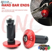 Manubrio Gear Equilibrato Plug Slider Maniglia Bar End Grip Tappi Per Suzuki GSXR GSX R 600 750 1000 1300 K1 K2 k3 K4 K5 K6 K7 K8 K9