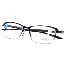 Progressive Glasses Multifocal Reading Eyeglasses Anti blue men Bifocal Intelligence diopter glasses hot sale women reading glasses cat eye bifocal reader progressive multifocal lens diopter eyeglasses for near and far distance