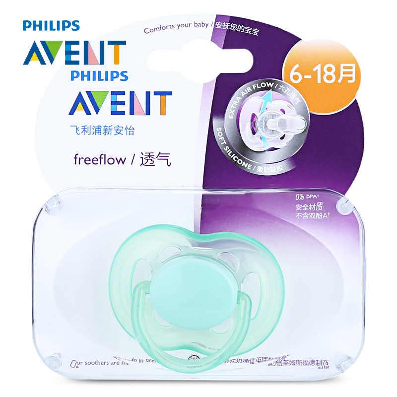 SCF178/14 Philips Avent Six hole pacifier (6 18 months