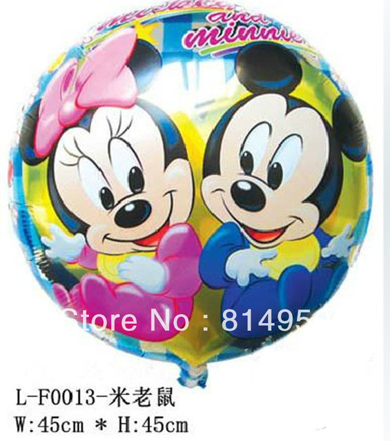 Free shipping 100pcs/lot 18 inches foil balloons Decoration articles gift wedding