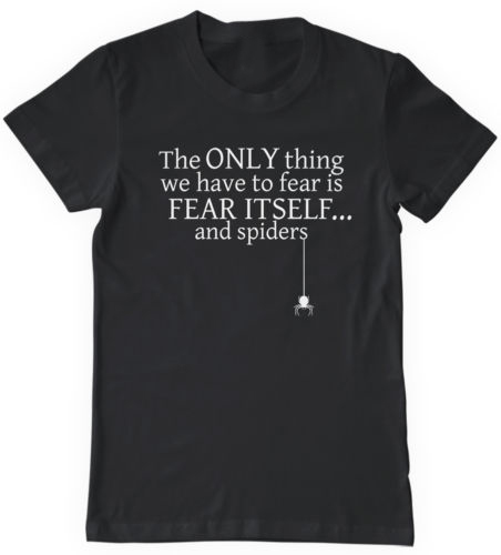 the only fear we have to fear is fear itself