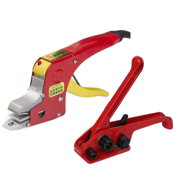 Electric Welding Strapping Heating Tool Manual Seal Strapper Banding Handy Straps Tightener Tensioner Machine 220V