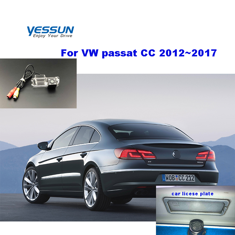 Yessun HD CCD Night Vision Car Rear View Reverse Backup Camera Waterproof For Volkswagen Passat CC 2012~2017