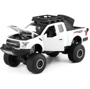 Image 4 - 1:32 Raptor F150 Pickup Truck Metal Toy Cars Model With Music Flashing Sound For Boys Birthday Gifts Free Shipping